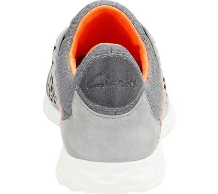 Clarks Mens Seremax Pizzo Sneaker In Camoscio Grigio