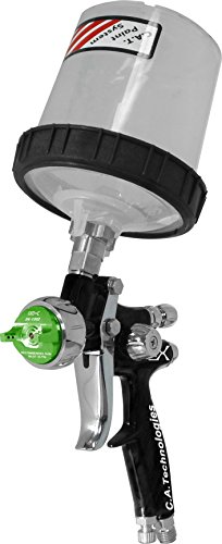 C.A. Technologies CAT-X Spray Gun (Woodworking E- Pack – 3M PPS Cup – Black Teflon Coated)
