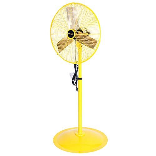 - STANLEY ST-24P High Velocity Pedestal Fan 24