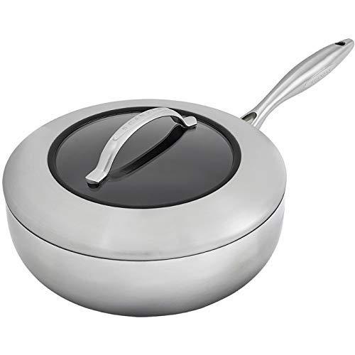 Scanpan CTX 4 Quart Deep Saute Pan With Lid, 10.25 Inch by Scanpan (Image #1)