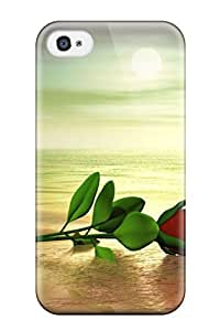 Perfect Nice Rose Case Cover Skin For Iphone 4/4s Phone Case by mcsharks