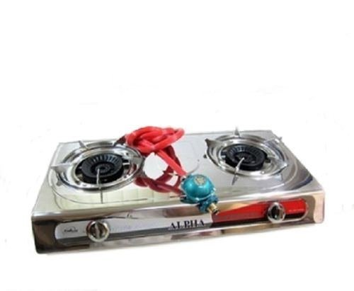 Cheap Portable Propane Double Burner Camping Gas Stove T Gate 2 LP Tailgating
