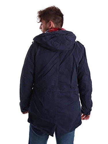 Giacca Uomo Blu Gaudi 3xl Jeans 721bu35024 Bqwnn7AEF