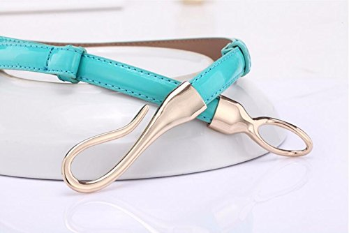 SAIBANGZI Ms Women All Seasons Hook Belt Fine Decorative Leather Women'S Belts Girlfriend Present O 100Cm by SAIBANGZI (Image #5)