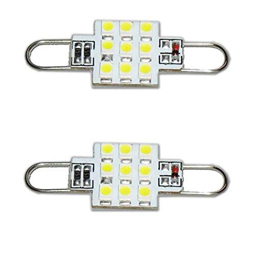 Rigid Loop 44mm LED White 561 562 212-2 LED Rigid Loop Light Bulb RL4410-xHP9 (Pack of 2)