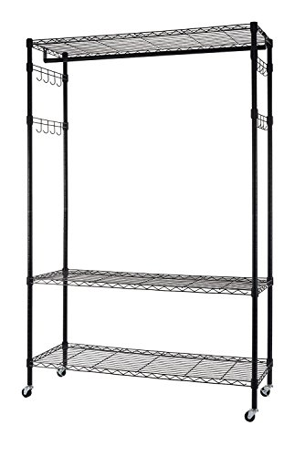 garment rack with shelf - 5