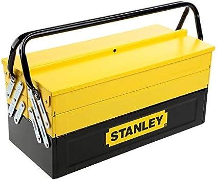 STANLEY 1-94-738 - Caja de herramientas metálica, 50.5 x 24.5 x 25 cm: Amazon.es: Bricolaje y herramientas
