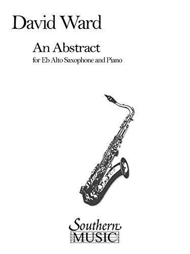 An Abstract Alto Saxophone And Piano