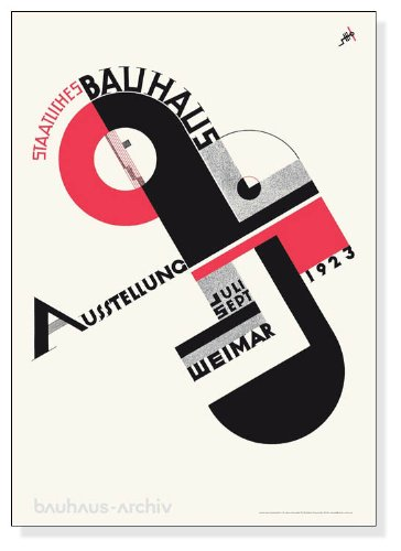 ポスター バウハウス Bauhaus-ausstellung 1923年 B008AGPH5Y