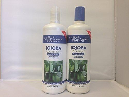 Mill Creek Jojoba Shampoo (Mill Creek Botanicals Jojoba Shampoo and Conditioner Bundle)