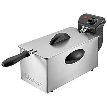 Clatronic Freidora Acero Inoxidable 3 Litros FR3586 - Vendedores Amazon. Ofertas para tu Hogar.: Amazon.es