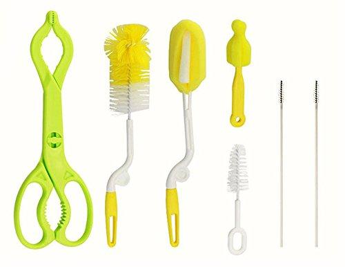 7 PCS Bottle Brush Cleaner Kit, Cleaning Brush Set for Cups