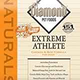 Diamond Naturals Dry Food for Adult Dogs, Extreme Athlete Chicken and Rice Formula, 40 Pound Bag, My Pet Supplies