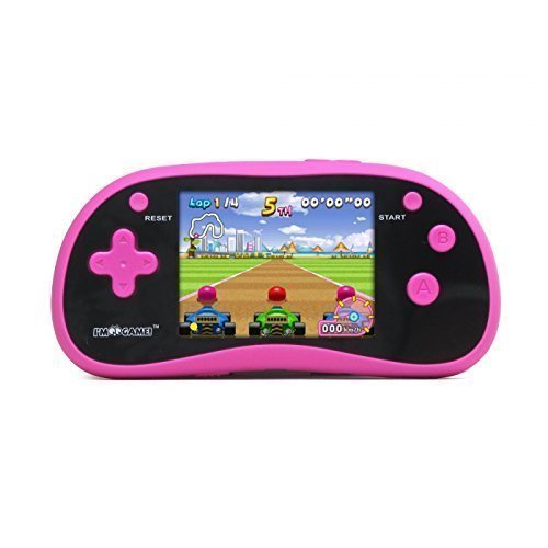 I'm Game 180 Games, Handheld Game Player with 3'' Color Display Pink by I'm Game
