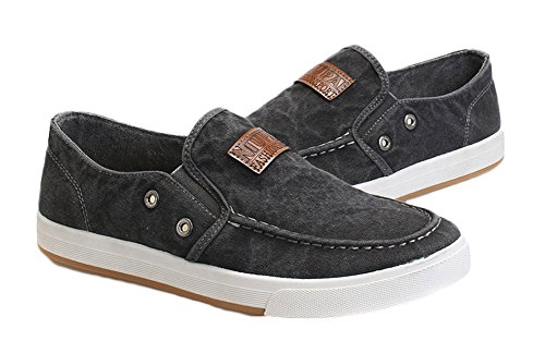 Ma Gray Shoes King Casual Canvas Mens Dark TnvwqgSwZ