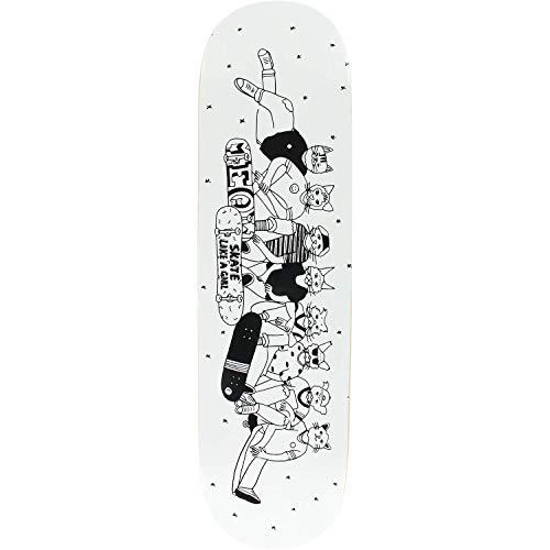 効果的アイロニー救出Meow Skateboards X Skate Like A Girl スケートボードデッキ - 8.25インチ x 32.125インチ