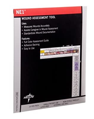 Medline MSCNE1TOOLPK NE1 Wound Assessment Tool (Pack of 10)