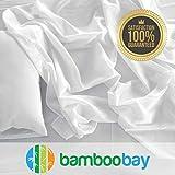 Bamboo Sheets | Durable 100% Viscose from Bamboo Sheet Set | Soft, Breathable