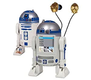 Star Wars 2GB R2D2 MP4 Player by Jazwares