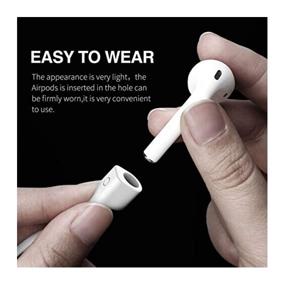 GadgetBite Anti-Lost Magnetic Strap Silicone Cable String for Apple Wireless Earphones 1   Apple Wireless Earphones 2   Apple Wireless Earphones Pro - Classic Black