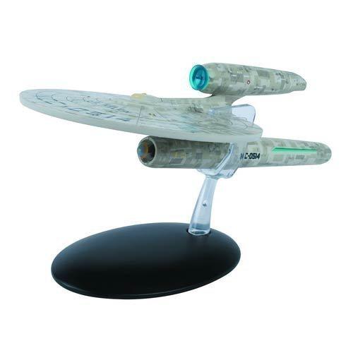 Star Trek Starships 2009 Movie USS Kelvin Die-cast Vehicle with Magazine (2009 Magazine)