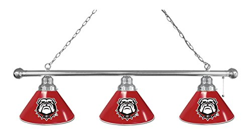 Holland Bar Stool Co. Georgia Bulldog 3 Shade Billiard Light
