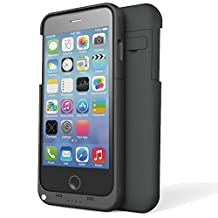 3200mAh For Apple iPhone 6 4.7 Inch Portable USB External Battery Charger Case Power Bank with Viewing Stand - Black