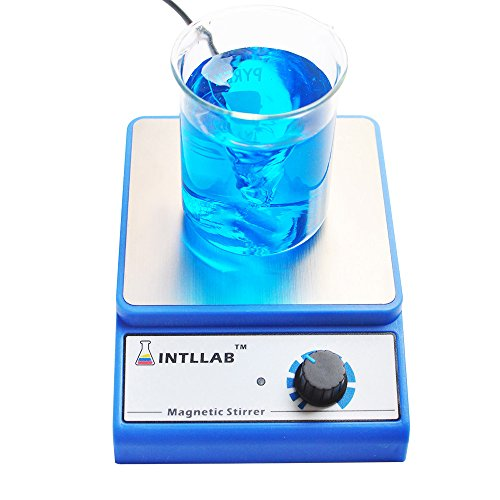 Magnetic stirrer magnetic mixer with stir bar 3000 rpm Max Stirring Capacity: 3000ml