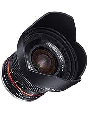 $223 » Rokinon 12mm F2.0 NCS CS Ultra Wide Angle Fixed Lens for Olympus and Panasonic Micro 4/3 (MFT) Mount Digital Cameras (Black) (RK12M-MFT) (Renewed)