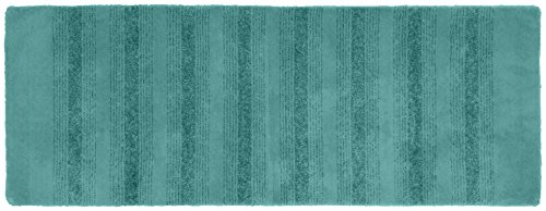 06 Runner Rug - Garland Rug Essence Runner Nylon Washable Rug, 22-Inch by 60-Inch, Seafoam