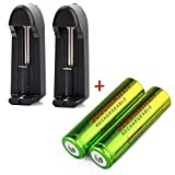 Best 18650 Batteries - Skywolfeye 18650 lithium Rechargeable Batteries 5000mAh 3.7V And Review
