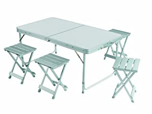 grand cing table set foldable portable picnic