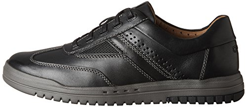 Leather Sneaker Clarks Clarks Black Uomo Sneaker wa8PqZva