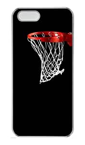 Just A Basket PC Case Cover for iPhone 5 and iPhone 5s ¡§CTransparent
