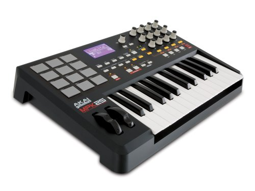 Akai Professional MPK25 25-Key USB MIDI Keyboard Controller with MPC Pads by Akai Professional