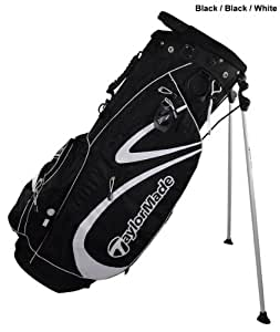 TaylorMade Pure-Lite 2.0 Stand Bag (Black/Black/White)
