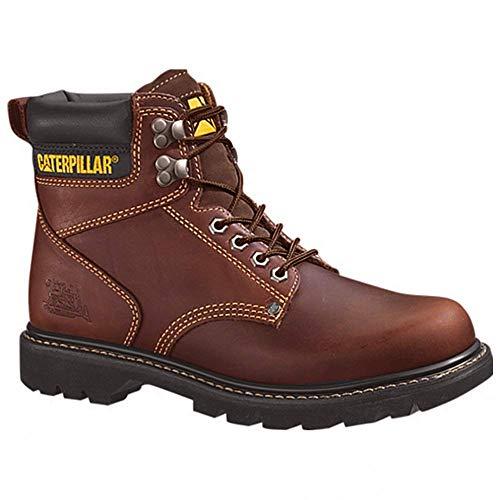 Caterpillar Men's 2nd Shift 6″ Plain Soft Toe Boot,Tan,6.5 M US