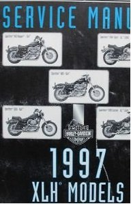 Official Factory Service Manual (1997 Harley-Davidson XLH Models Official Factory Service Manual (P.N. 99484-97))