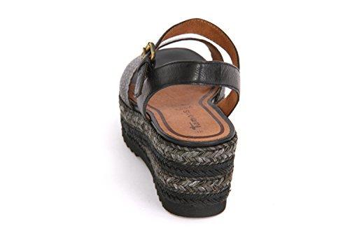 Tamaris Women's 1-1-28370-28/001 Fashion Sandals Black S1Jroeu