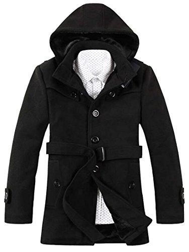 Fur Lined Jacket Coat - 5