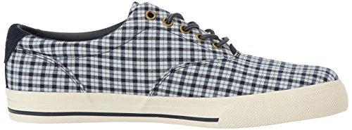 Polo Ralph Lauren Mens Vaughn Sneaker Bianco / Newport Blu Scuro
