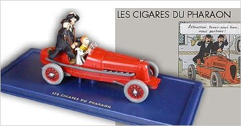 Téléchargement Hergé - Atlas - En voiture Tintin - 02 - Les Cigares du Pharaon, le bolide rouge epub pdf