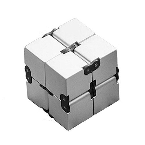 AOLVO Infinite Cube Decompression Square Killing Time Toys for For ADD, ADHD, Anxiety, and Autism Adult and Children