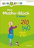 Mein Mathe-Malblock 3. Klasse: Einmaleins, Zahlen-Raten, Rechentürme (LERNSTERN)