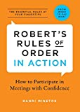 img - for Robert's Rules of Order in Action: How to Participate in Meetings with Confidence book / textbook / text book