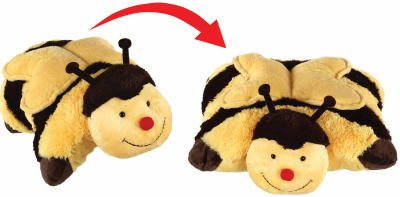 Ontel Products PPBEE-MC4 Bumble Bee Pillow Pet My Pillow Pets