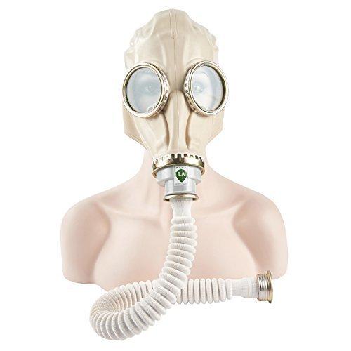 Joyutoy Halloween Skull Design Full Face Gas Mask Respirator Chemical Mask With Hose Pipe