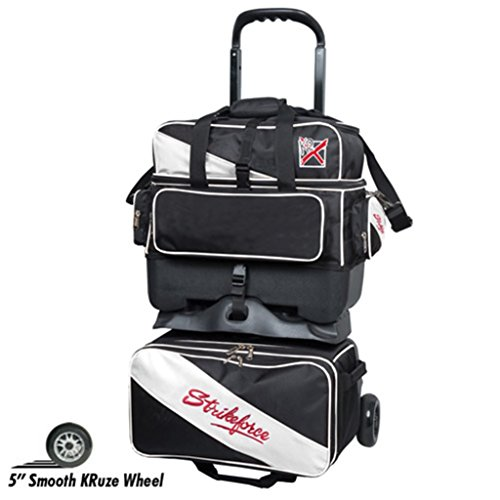 Used, KR Strikeforce Bowling Bags KR Strikefore Fast 4 Ball for sale  Delivered anywhere in USA