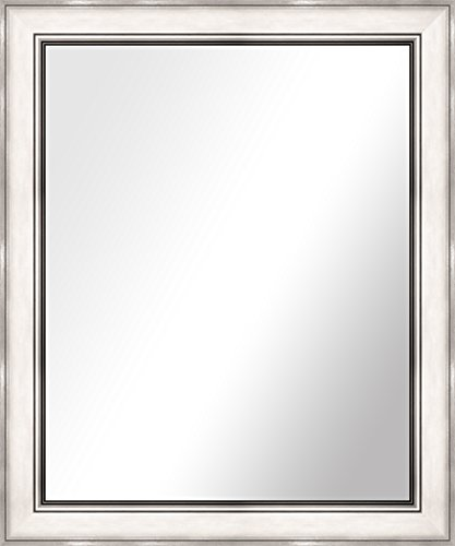 PTM Images 5-0613 Romita Silver Mirror Wall Art, 21.25 by 25.25-Inch