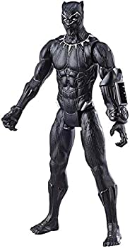 Boneco Titan Hero 2.0 Pantera Negra Avengers Preto
